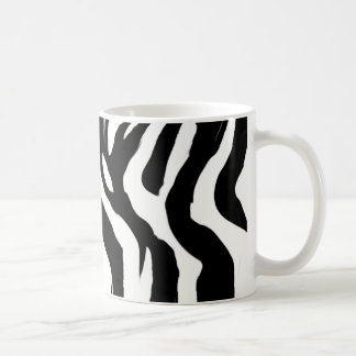 zebra-pattern coffee mug