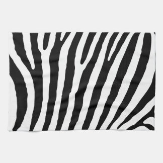 Zebra pattern kitchen towel