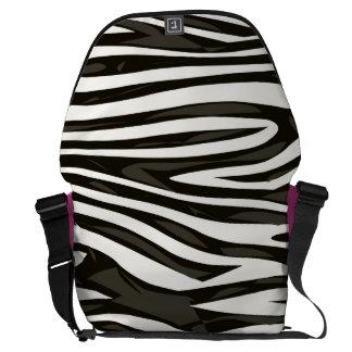 Zebra Pattern Commuter Bags