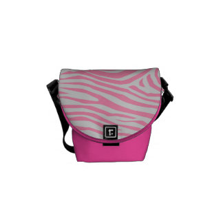 Zebra Pattern Courier Bags