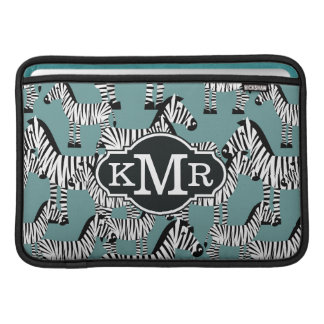 Zebra Pattern | Monogram MacBook Air Sleeves