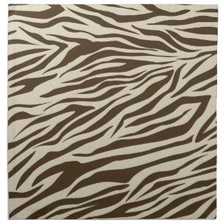 Zebra Pattern Napkin