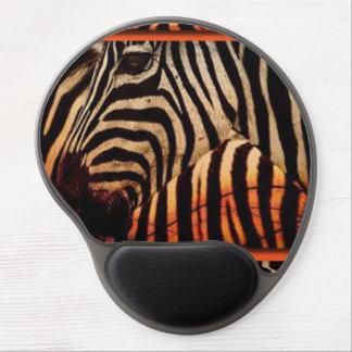 Zebra & Pattern Print Design Gel Mouse Pad