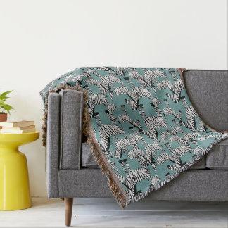 Zebra Pattern Throw Blanket