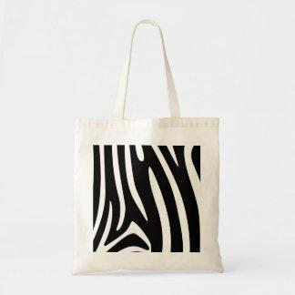 Zebra Patterns Tote Bag