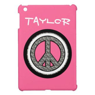 Zebra Peace Sign iPad Mini Case