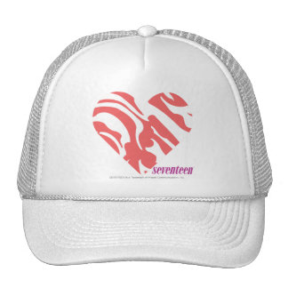 Zebra Pink 2 Mesh Hat