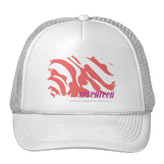 Zebra Pink 4 Hats