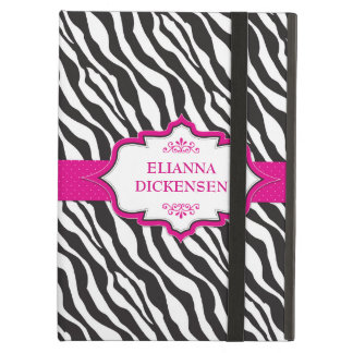 Zebra Pink Ribbon iPad Air Case