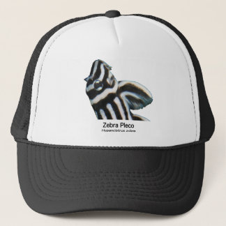 Zebra Placo Trucker Hat