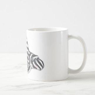 Zebra Pleco L46 Mug