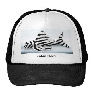 Zebra Pleco Trucker Hat