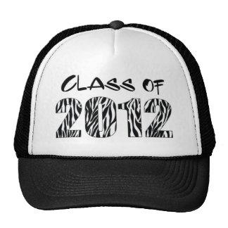 ZEBRA PRINT 2012 TRUCKER HATS
