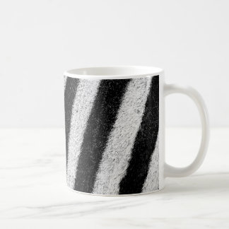 Zebra Print Abstract Coffee Mug