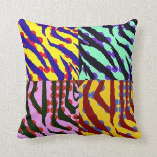 Zebra Print American MoJo Pillow