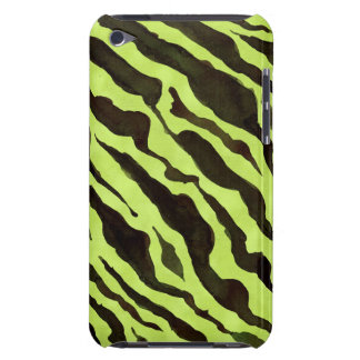 Zebra Print Animal Skin Pattern Mod Modern Chic Barely There iPod Case