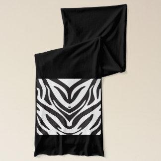 Zebra Print Black American Apparel Scarve Scarf