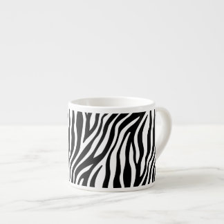 Zebra Print Black And White Stripes Pattern