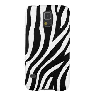 Zebra Print Black And White Stripes Pattern Case For Galaxy S5