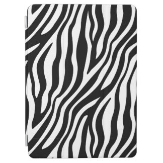 Zebra Print Black And White Stripes Pattern iPad Air Cover