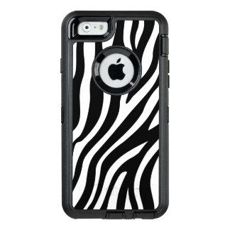 Zebra Print Black And White Stripes Pattern OtterBox iPhone 6/6s Case