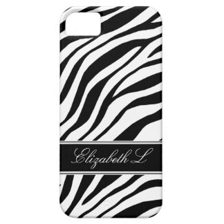 Zebra Print Black & White iPhone 5 Case