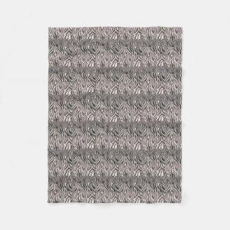 Zebra Print Blanket