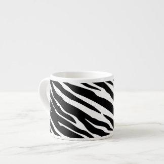 Zebra Print Espresso Mug