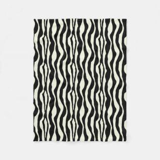Zebra Print Fleece