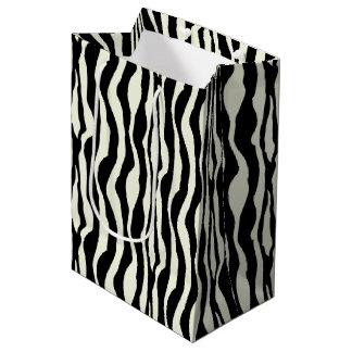 Zebra Print Gift Bag