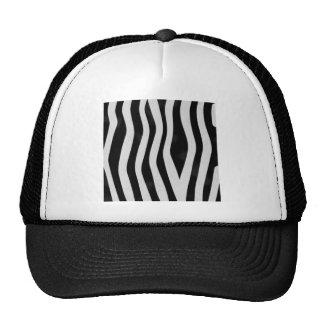 Zebra Print Hat