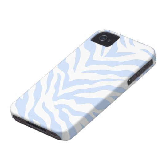 Zebra Print iPhone 4/4S Case Mate Case