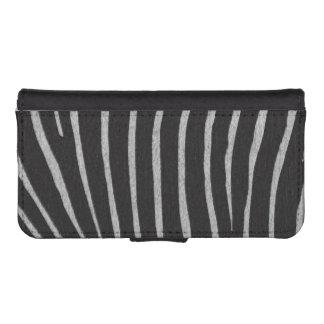 Zebra Print iPhone SE/5/5s Wallet Case