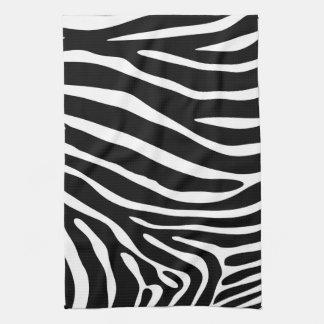 Zebra Print Kitchen Towel