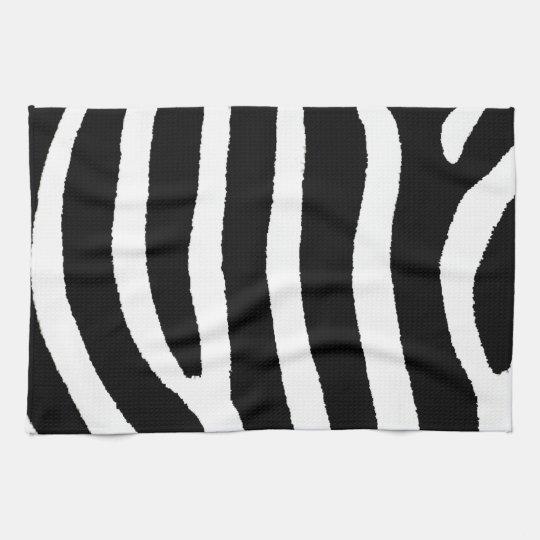 Zebra Print Kitchen Towels