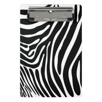 Zebra Print Mini Clipboard