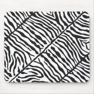 Zebra Print Mouse Pad