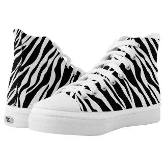 Zebra Print Pattern Shoes