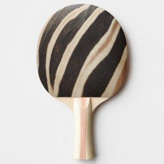 Zebra Print Ping Pong Paddle