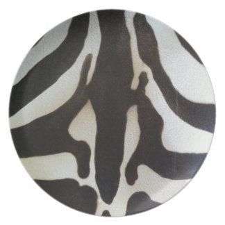 Zebra Print Plate
