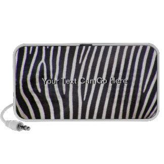 Zebra Print Portable Speakers