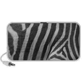 Zebra Print Speakers