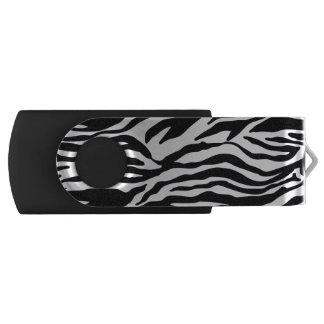 Zebra Print USB Flash Drive