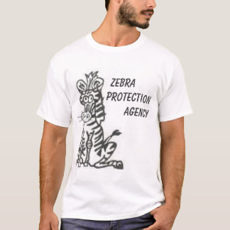 Zebra Protection Agency T-Shirt