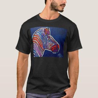 Zebra Rainbow by Piliero T-Shirt