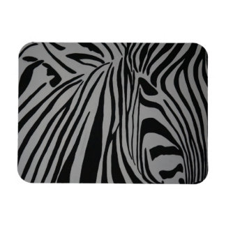 Zebra Rectangular Photo Magnet