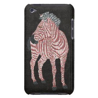 Zebra Red Art Case iPod Touch Case-Mate Case
