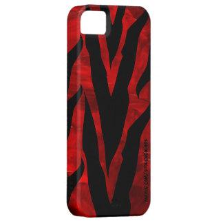 Zebra Red Iphone 5 iPhone 5 Case