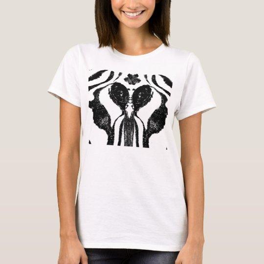 Zebra Roschach T-Shirt