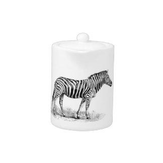 Zebra rows art